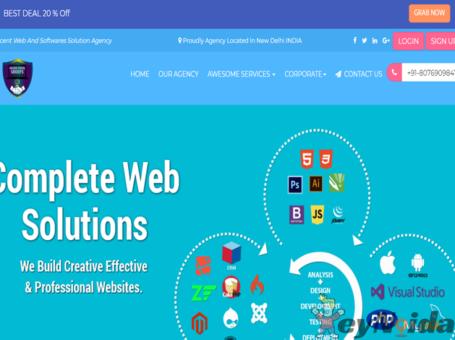 Affordable website designing company in delhi